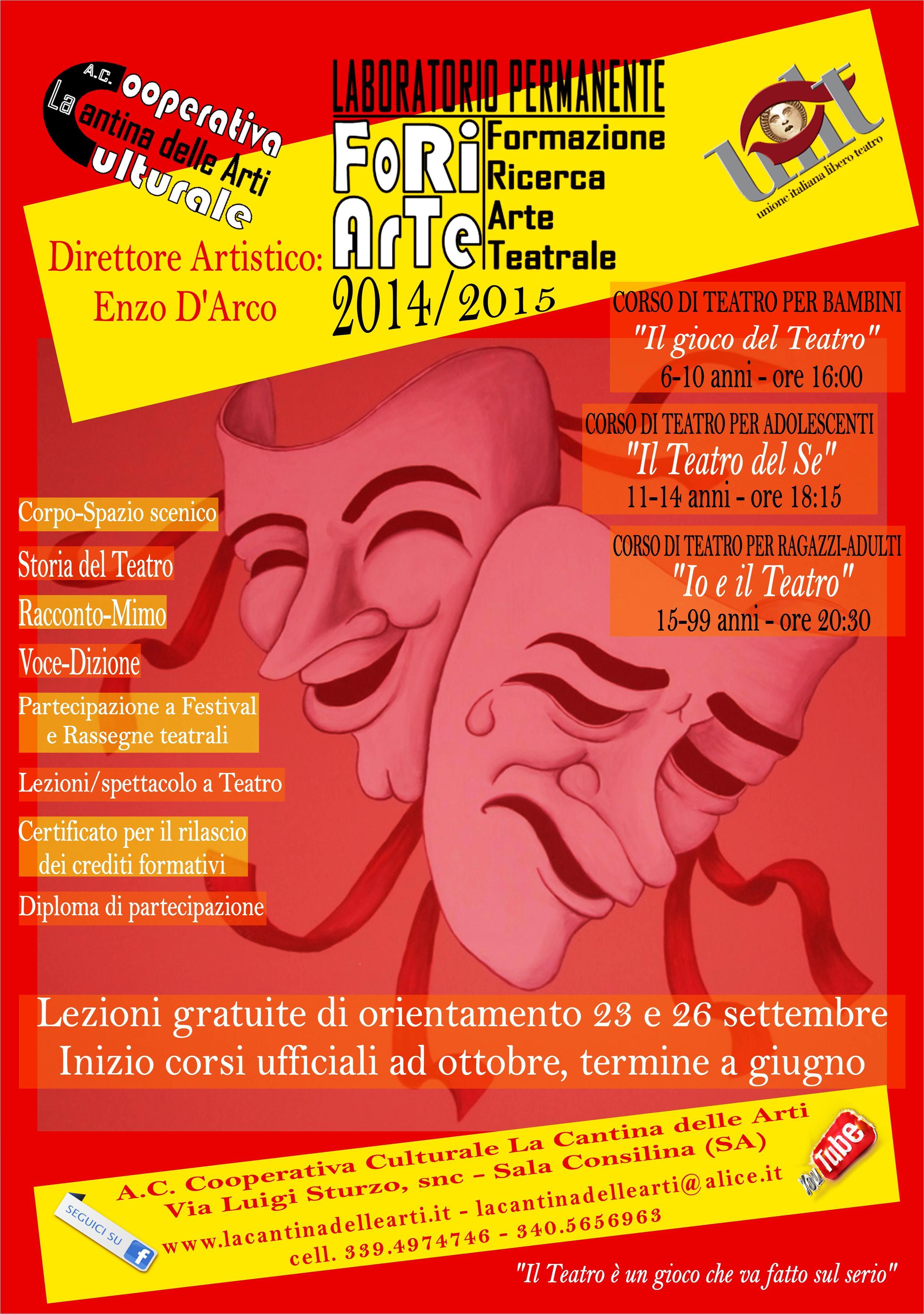 FoRiArTe 2014-2015