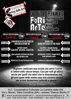 FoRiArTe 2012-2013