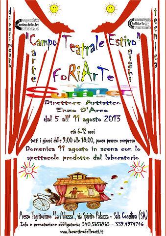 FoRiArTe Summer 2013