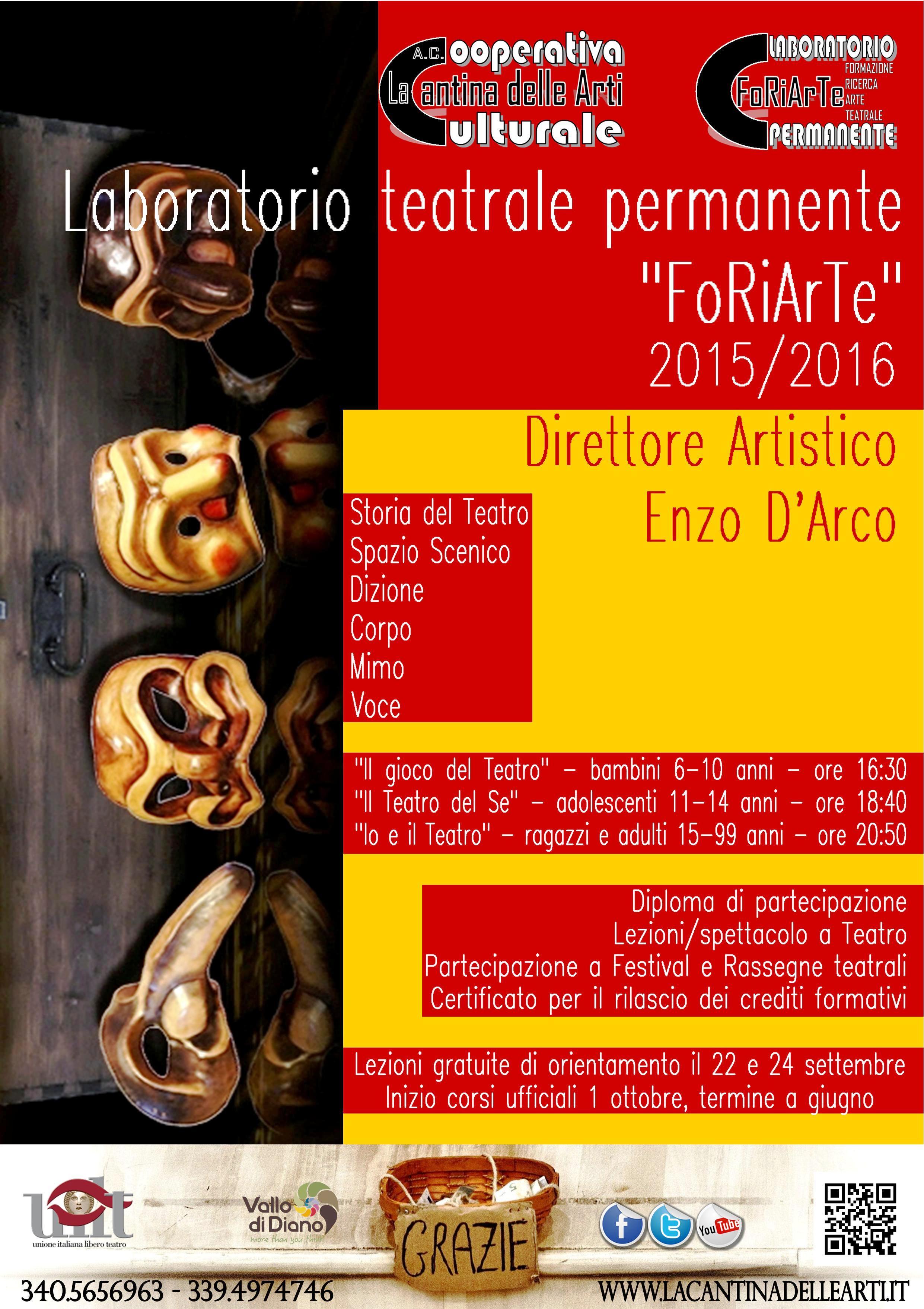 FoRiArTe 2015-2016