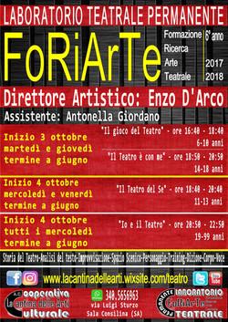 FoRiArTe 2017-2018