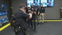 Entrenamiento policiaco en realidad virtual