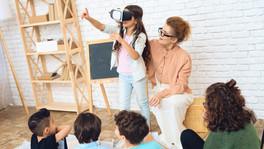 La evolución en el aula, educación virtual.