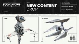Dos nuevas actualizaciones de Star Wars: Squadrons