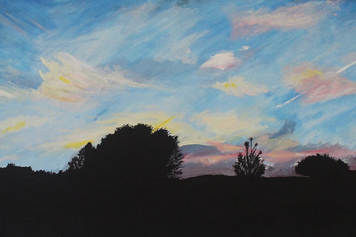 Forest Sunset- Limited Edition Print