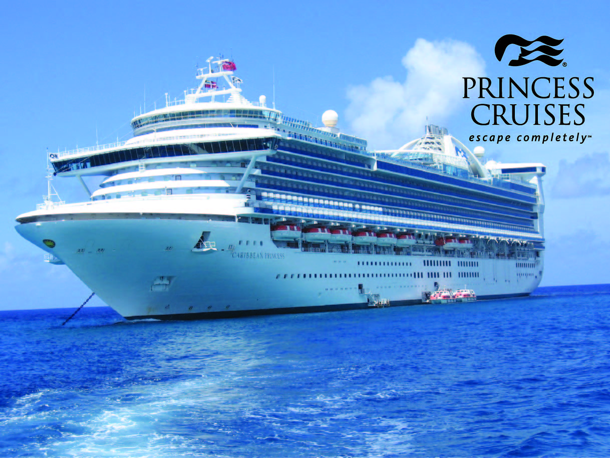 Caribbean Princess with PCL Logo