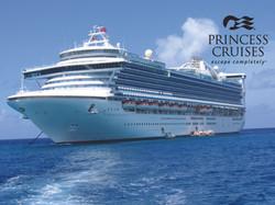 Caribbean Princess with PCL Logo