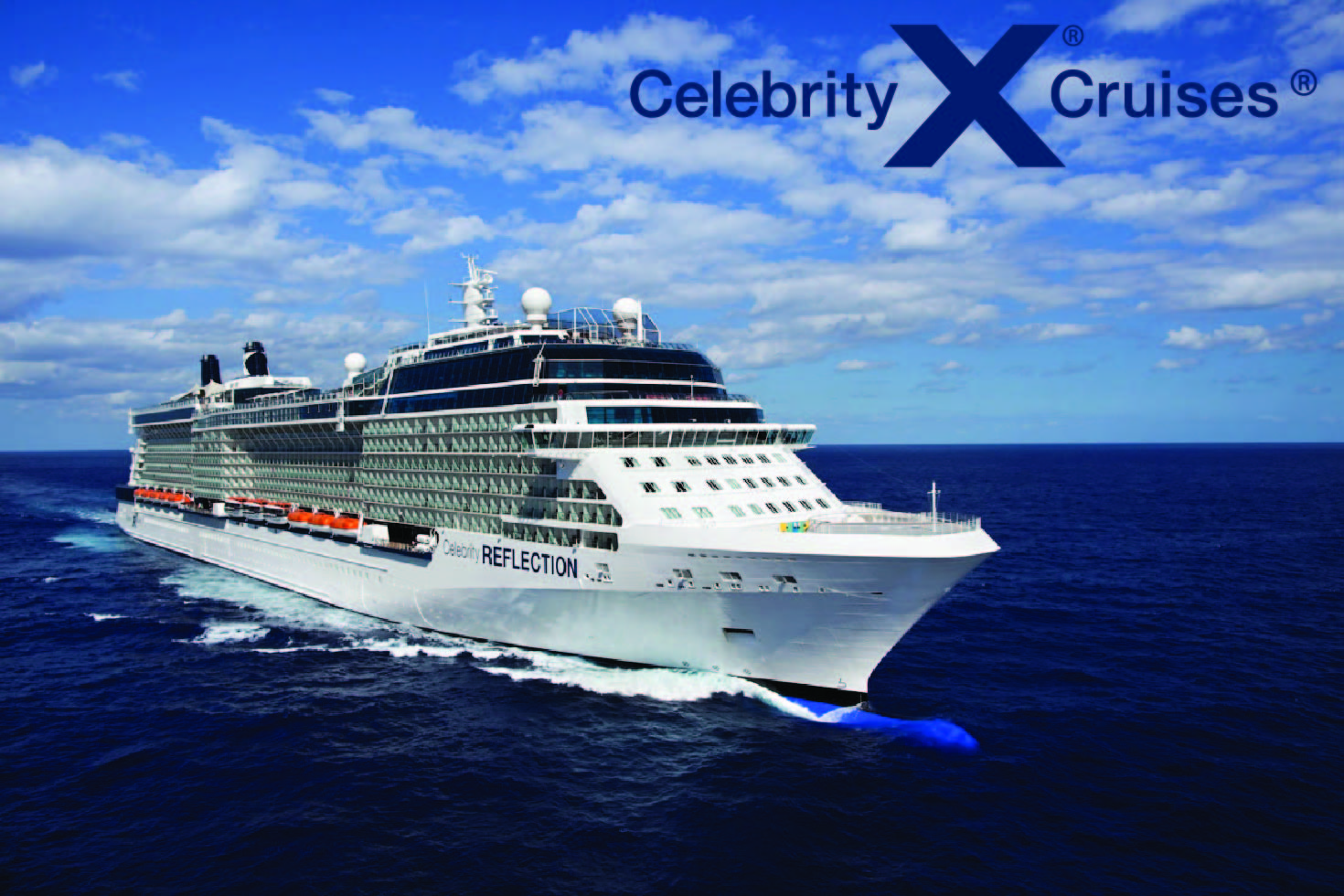 Celebrity Ship with CEL Logo