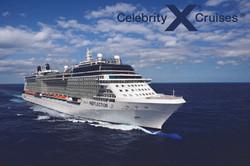 Celebrity Ship with CEL Logo