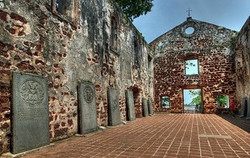 Malacca- St John Fort