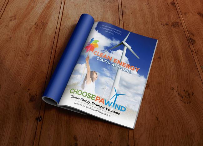 Choose PA Wind Magazine Ad