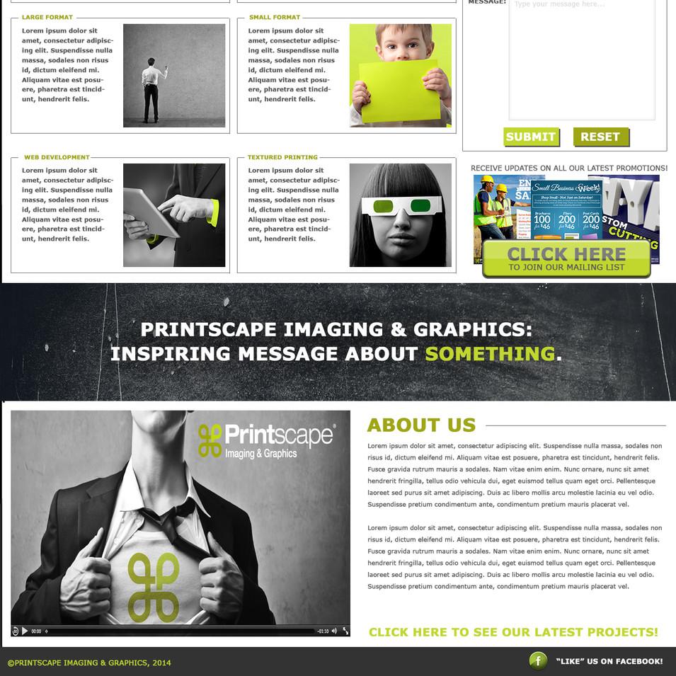 Printscape Homepage