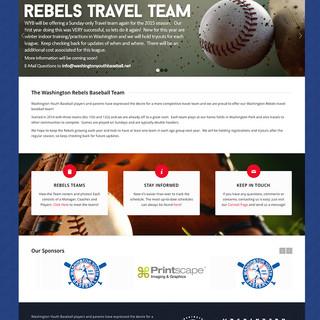 Washington Rebels Baseball: Homepage