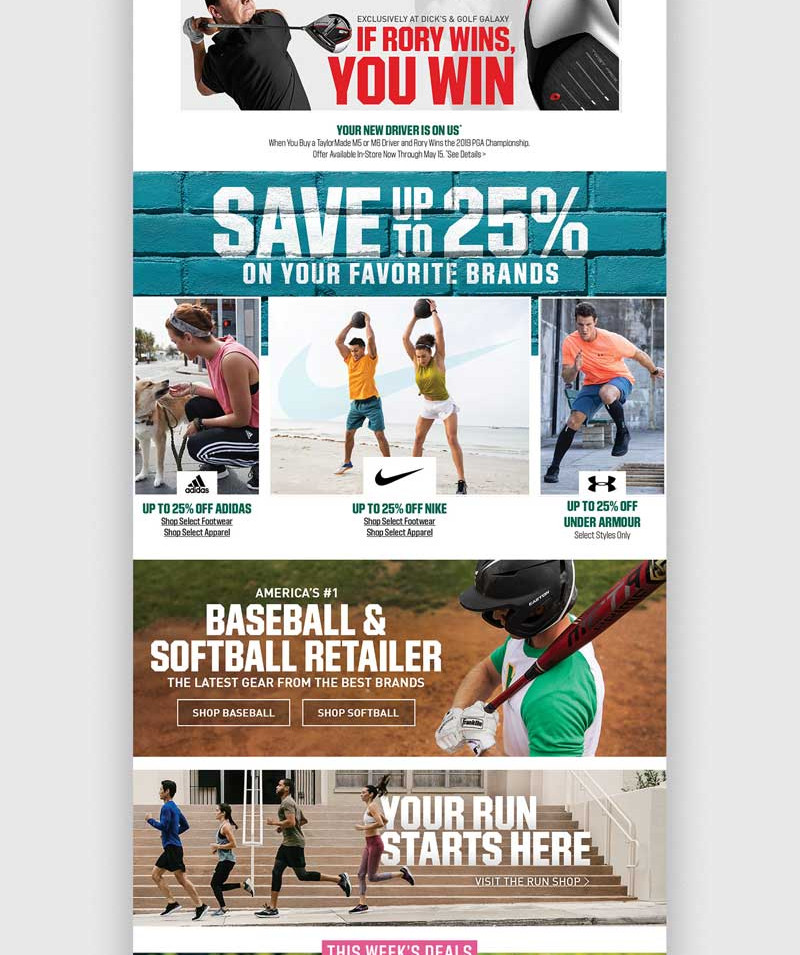 DICK'S Homepage: April