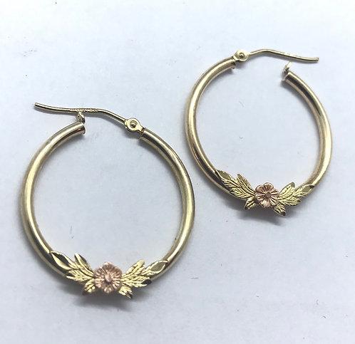 10 Karat Yellow Gold Earrings