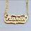 Thumbnail: Name Plate Necklaces
