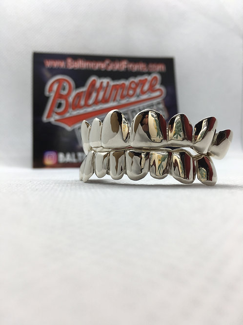 8 Piece 10k Gold Top Or Bottoms 10k Gold Grillz SAVE Most Styles