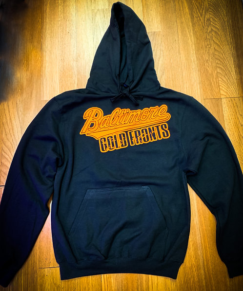 Baltimore Gold Fronts Hoodies