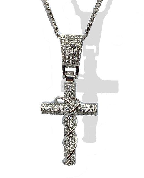 .925 Silver Cross Pendant
