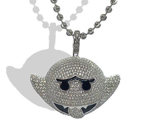 """.925 Silver """"Boo""""Pendant"""