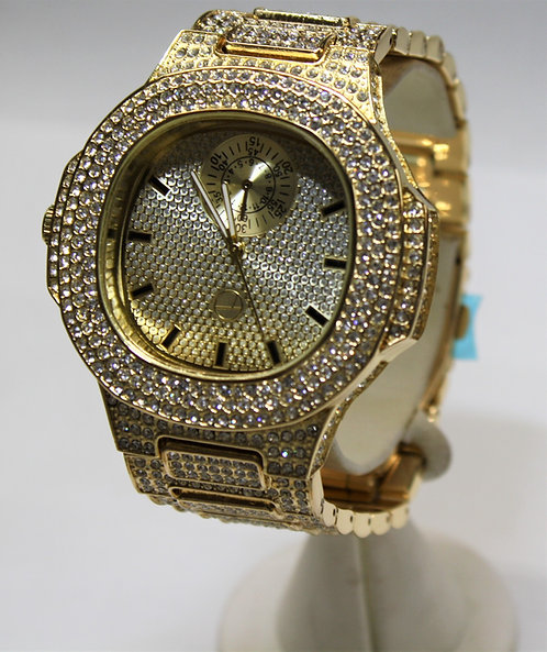 Gold Bust Down Techno Pave