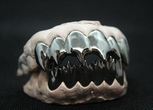 Black Piranha Teeth 12 Piece