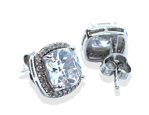 .925 Silver Woman's Stud Earrings