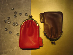 CARD-CASE-CARAMEL-AND RED