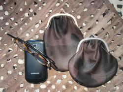 PHONE/GLASSES CASE & COIN PURSE CAMO