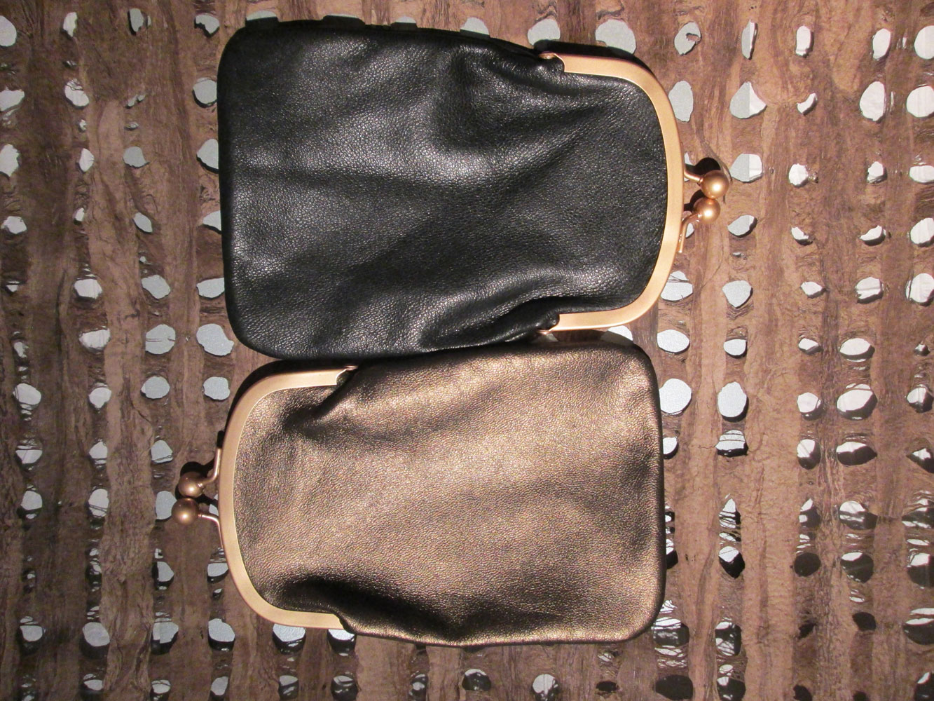 PHONE / GLASSES CASES BLACK BRONZE