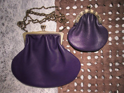 ELEGANCE FRAME PURPLE / SMALL COIN