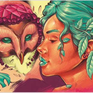 """Owl girl"""