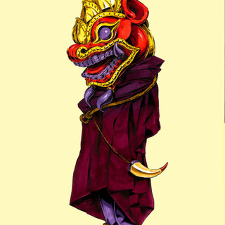 """Bagan Warrior"""