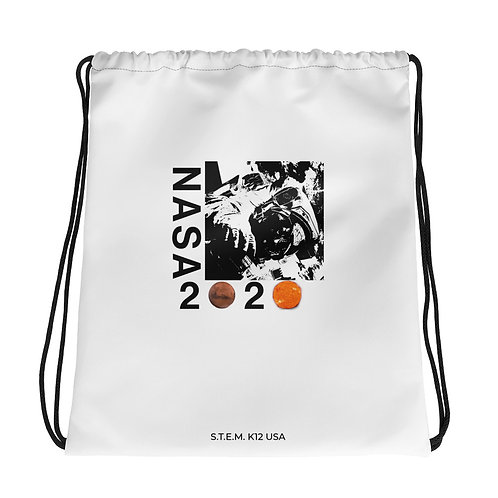 NASA 2020 Drawstring bag
