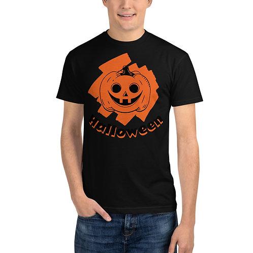 Halloween Pumpkin Sustainable T-Shirt
