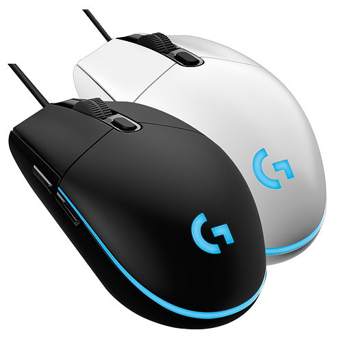 Logitech G102 Wired Gaming Mouse Backlit Mechanical Mouse Side Button