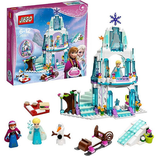 Girl Series Elsa's Sparkling Ice Castle Model