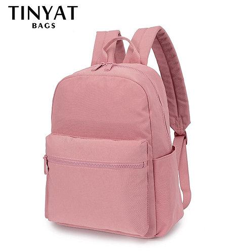 TINYAT Winter Women Laptop Backpacks Computer Waterproof