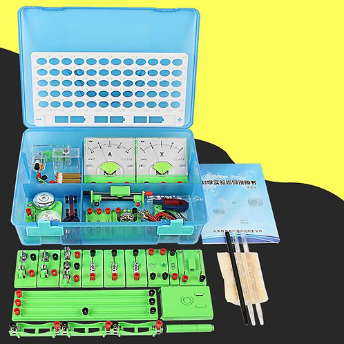 Basic Circuit Electricity Magnetism Learning Kit Physics Students Learning Aids