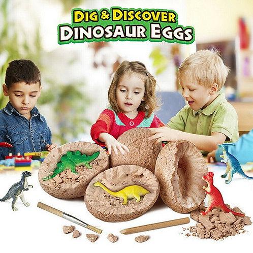 2PCS Dinosaur Eggs Science Kit STEM WJ01