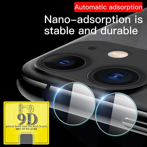 2 Pcs Camera Lens Tempered Glass for iPhone Lens Protector Cover