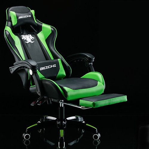 Racing Synthetic Leather Gaming Chair Internet Cafes WCG Computer Chair