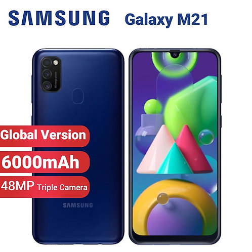 Global Version Samsung Galaxy M21 M215f/Ds Mobile Phone