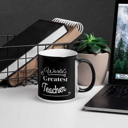 Worlds Greastest Teacher/NASA 2020 Glossy Magic Mug