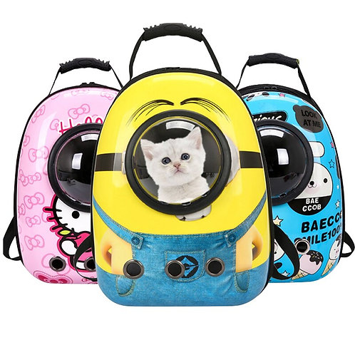 Space Capsule Outdoor Travel Breathable Handbag for Puppy Kitten Carry Supplies