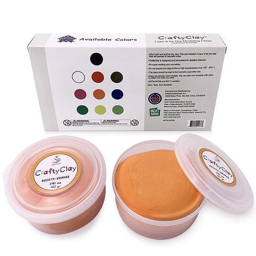 GCS01X-ORANGE REFILL Air Dry Clays by CRAFTYCLAY