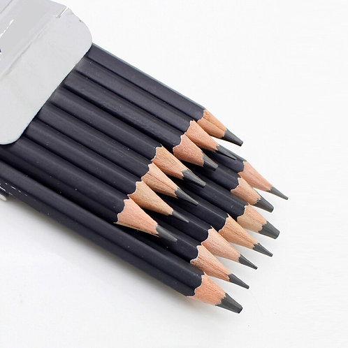 14 Pcs/Set Professional Sketch Painting Drawing Pencil Wood