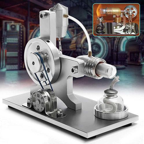 Hot Air Stirling Engine Model Electric Generator Motor Educational Physics