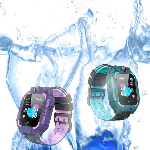 ABS Non/Waterproof Digital Touch Wristwatch Voice Android iOS Anti-Lost