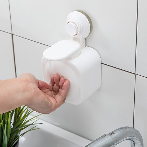 Wall-Mounted Hand Sanitizer Bottle  With Punch-Free
